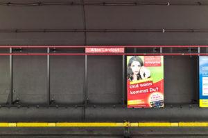 Altes Landgut, Wien, Linie U1 (rot)