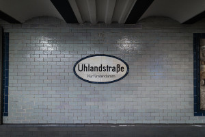 Berlin, U1, Uhlandstraße
