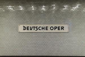 Berlin, U2, Deutsche Oper