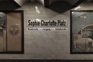 Berlin, U2, Sophie-Charlotte-Platz