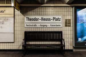 Berlin, U2, Theodor-Heuss-Platz
