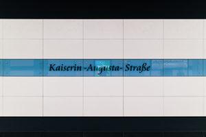 U6 Kaiserin-Augusta-Straße