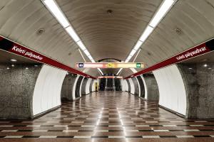 Mittelgang des Bahnhofs Keleti pályaudvar