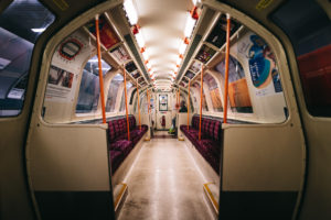 Glasgow Subway coach