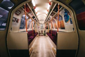 Glasgow Subway Zug