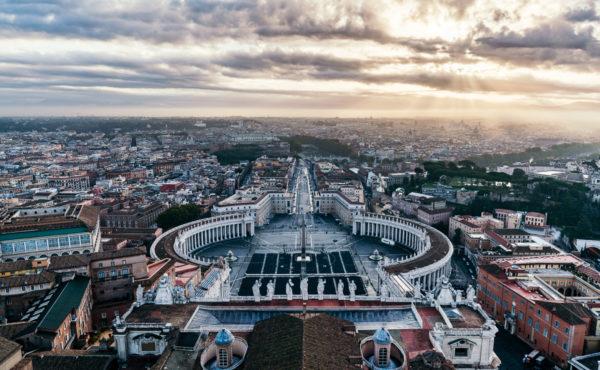 Rome sunrise