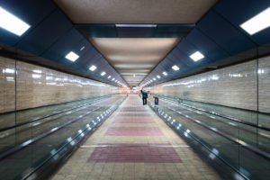 Pedestrian tunnel University